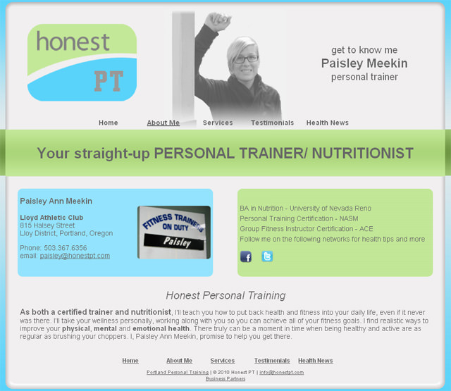 Honest Personal Training Portland
