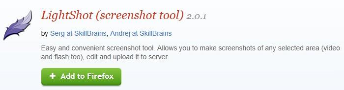 Screen Shot Tools -