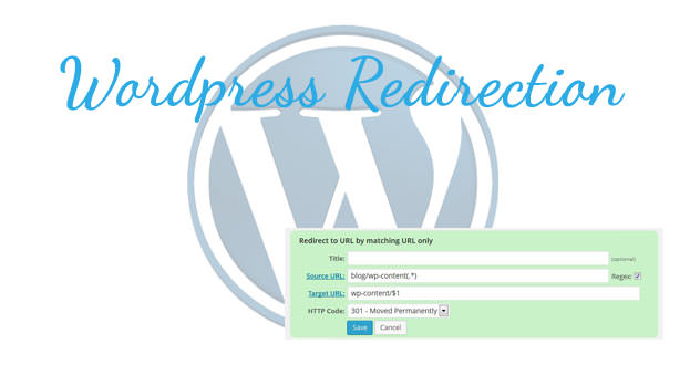 Redirecting A Directory With Wordpress Redirection