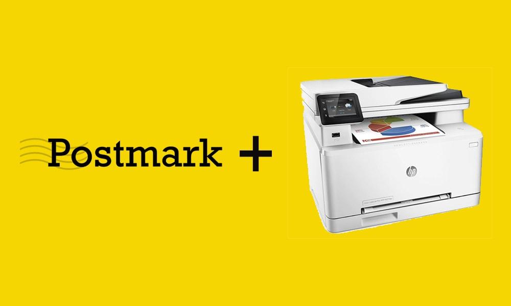 Postmark HP Laser Jet Scan to Email Setup
